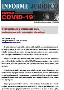 Informe Jurídico – ESPECIAL COVID-19 – Por Cintia Yazigi