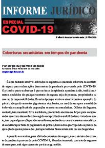 Pellon & Associados – Informe Jurídico – Especial COVID-19