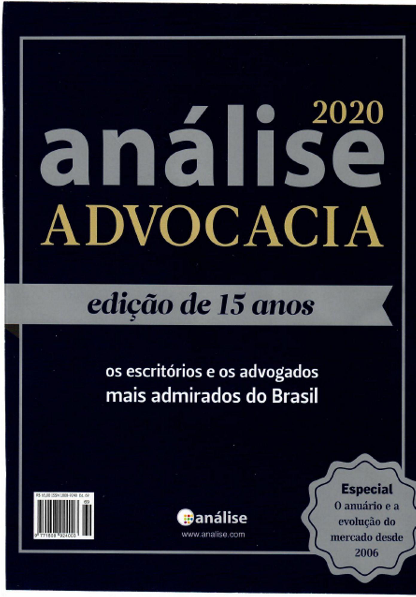 ANÁLISE ADVOCACIA 500 – 2020