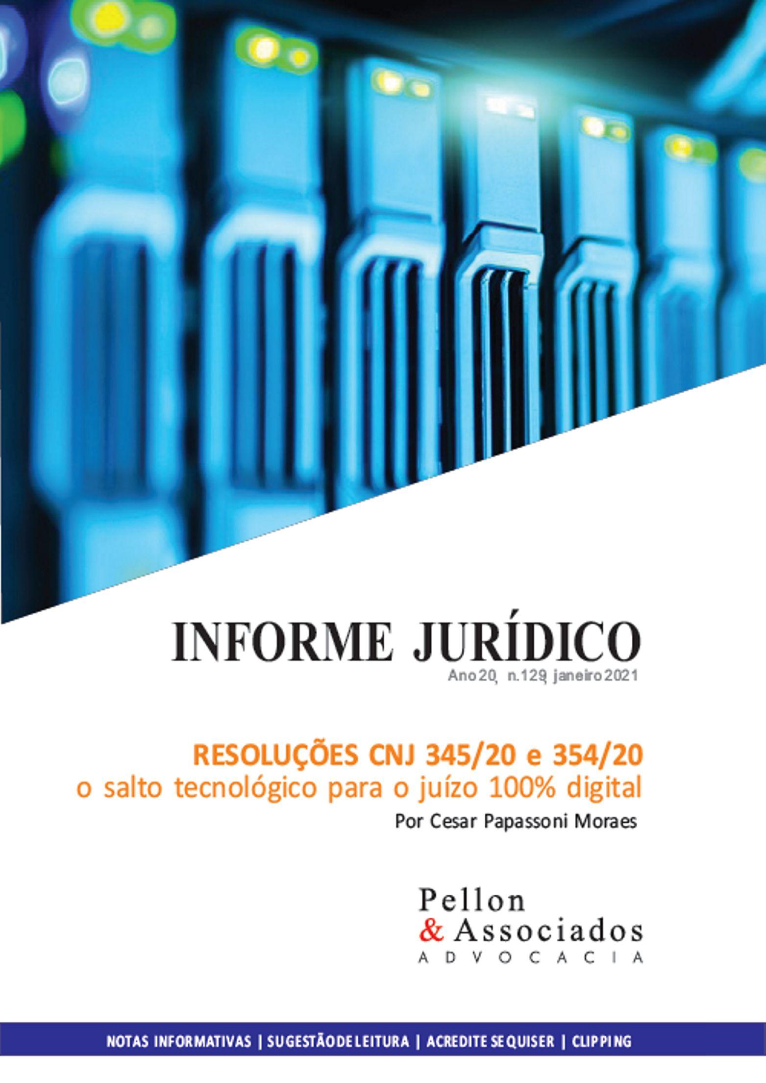 INFORME JURÍDICO EDIÇÃO 129